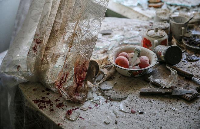 © Сергей Ильницкий (European Pressphoto Agency). Донецк, Украина, 26 августа 2014 года