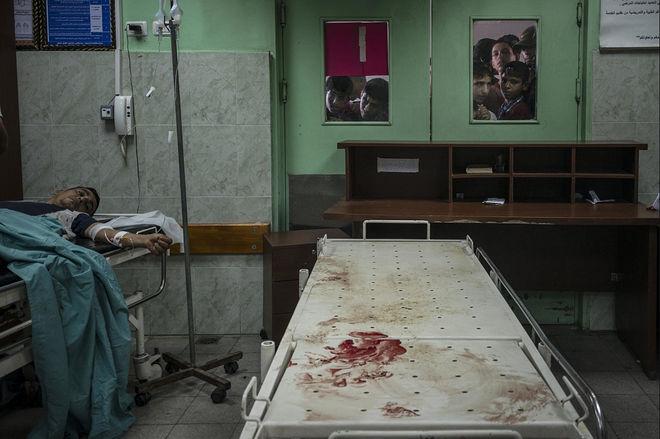 © Сергей Пономарев для The New York Times. Бейт-Лахия, Сектор Газа, 24 июля 2014 года