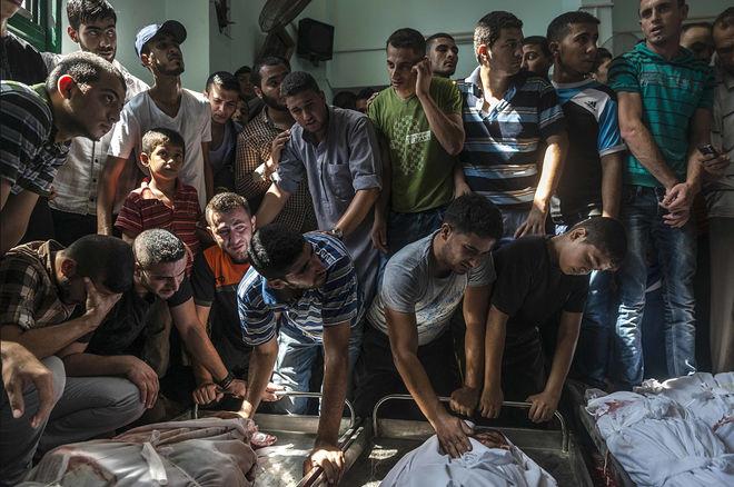 © Сергей Пономарев для The New York Times. Джабалия, Сектор Газа, 4 августа 2014 года