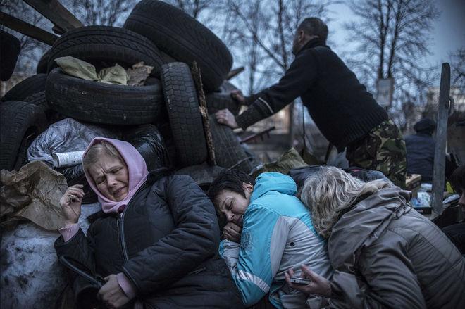 © Сергей Пономарев для The New York Times. Киев, Украина, 21 февраля 2014 года