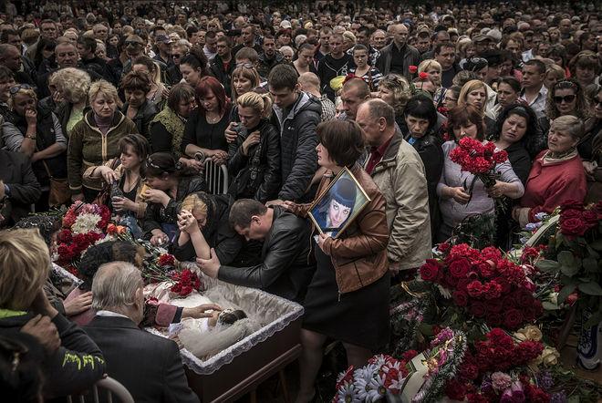 © Сергей Пономарев для The New York Times. Краматорск, Украина, 5 мая 2014 года