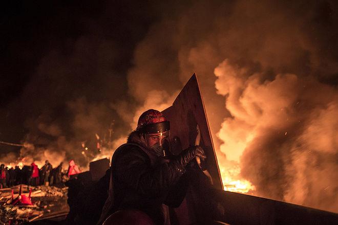 © Сергей Пономарев для The New York Times. Киев, Украина, 19 февраля 2014 года