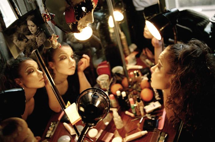 На репетиции спектакля «Бесконечно», режиссер – Евгений Корняг. Фото: Виктор Гилицкий