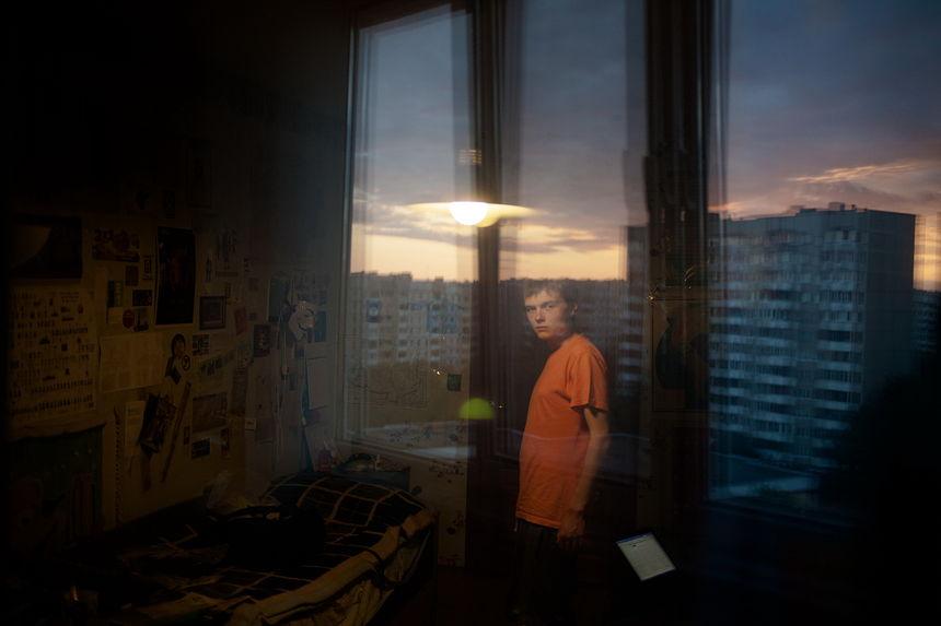 ©Максим Сарычев. «Валера, 18 лет. Социальный активист. 20 суток ареста»