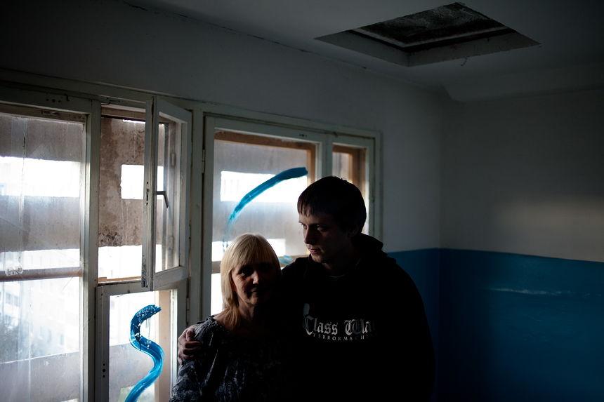©Максим Сарычев. «Александр Францкевич, 24 года. Анархист, 25 суток ареста»