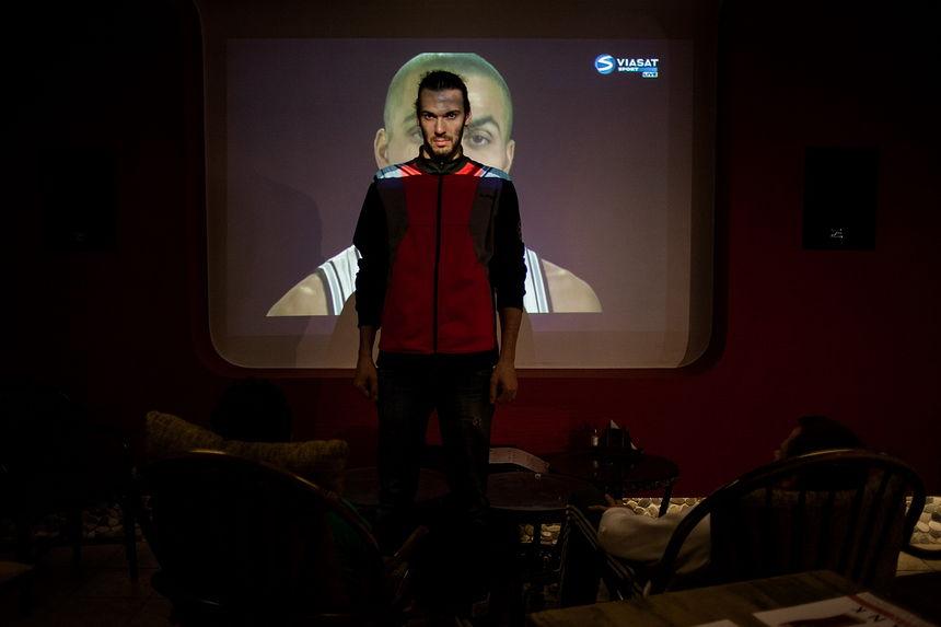 ©Максим Сарычев. «Андрей Ткачёв, 27 лет. Фитнес-инструктор. 15 суток ареста»