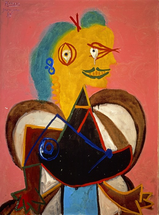 Pablo Picasso, Lee Miller, 1937. Private collection © Succession Picasso, DACS, London 2015