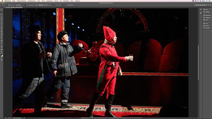 Тот же снимок 100% на экране 27-дюймового iMac Retina 5K