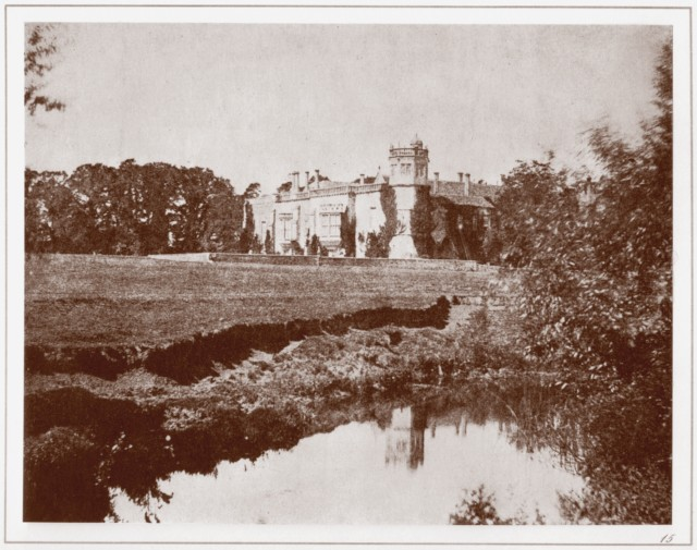 Talbot, William Henry Fox. Lacock Abbey, Wiltshire. 1844