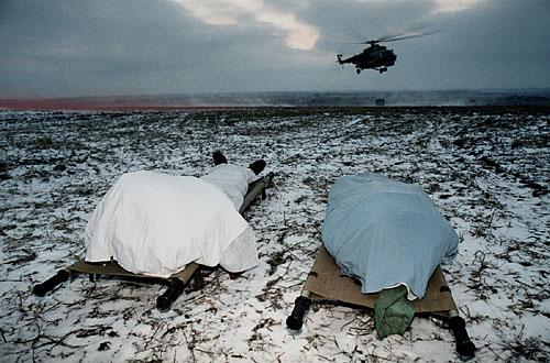 Персональная выставка. Владимир Веленгурин, «Война в Чечне»