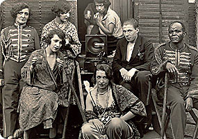 Август Зандер. Циркачи, 1930