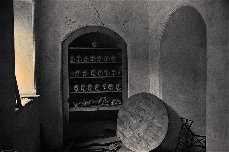 ©Александр Китаев. «Костница. 1996»