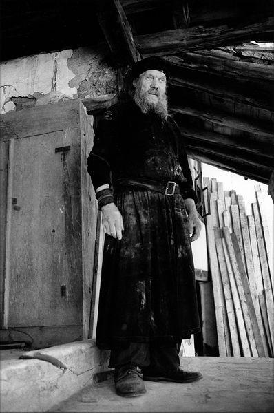 ©Александр Китаев. «отец Иаков. 1997»