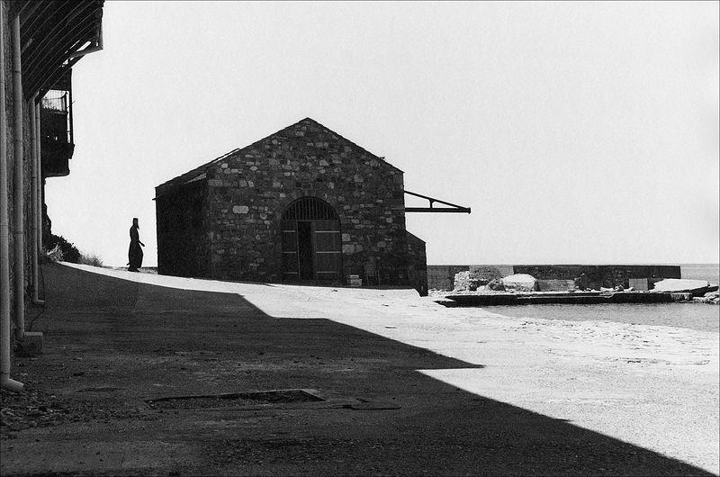 ©Александр Китаев. «Монастырская пристань. 1999»