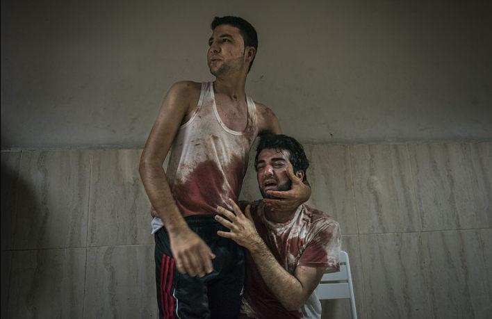 © Сергей Пономарев. Из серии Gaza Conflict. Хан-Юнис, Палестина, 2014