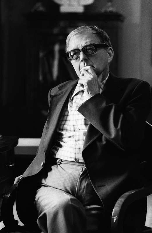 ©Владимир Вяткин. «Из цикла «Дирижеры мира», Дмитрий Шостакович, 1975»