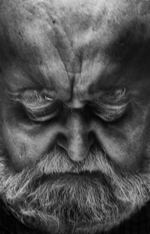 ©Владимир Вяткин. «Из цикла «Дирижеры мира», Кшиштоф Пендерецкий, 2011»