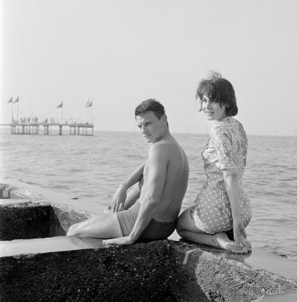 Грациано Аричи. Андрей Тарковский и Валентина Малявина. 1962. © Archivio Graziano Arici