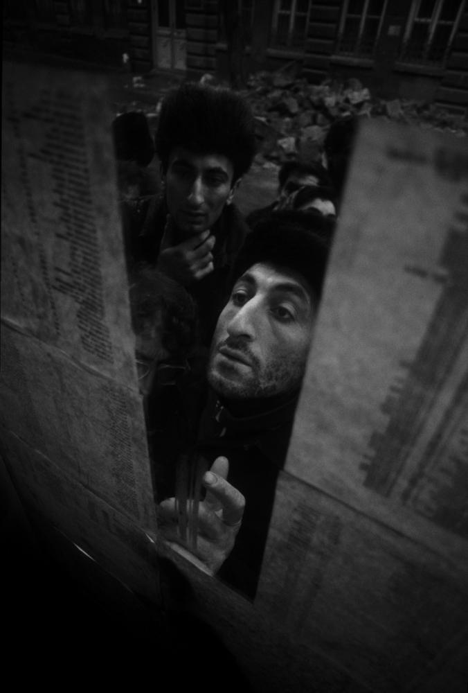 © Игорь Гаврилов. Землетрясение. Армения, 1988