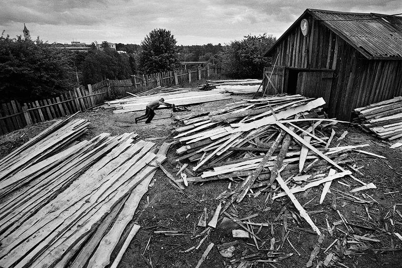 ©Эмиль Гатауллин. «Пилорама. Кашин, Тверская область. 2010»