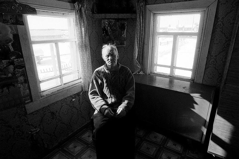 ©Эмиль Гатауллин. «Дед Шура. Село Гаврилово, Архангельская область. 2011»