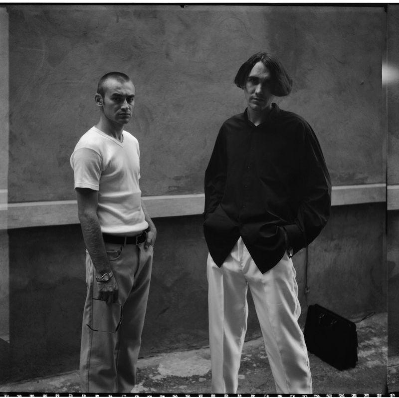 ©Юрий Зайцев. «Алексей и Лев. Краснодар. 1999»