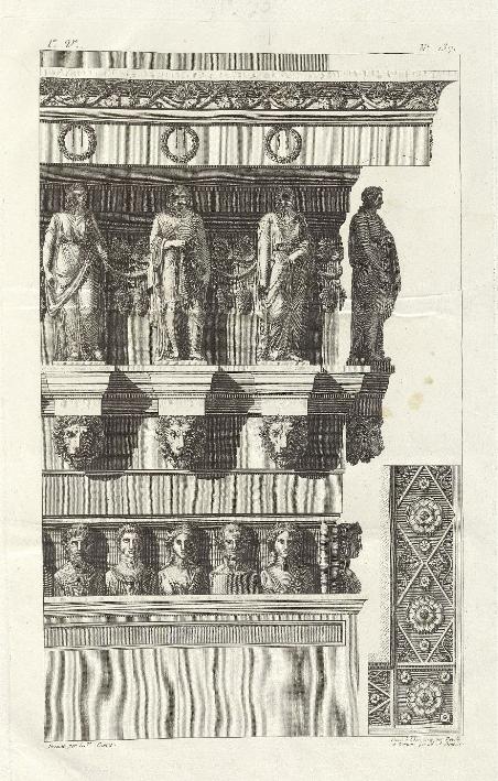 Архитектурный орнамент гробницы