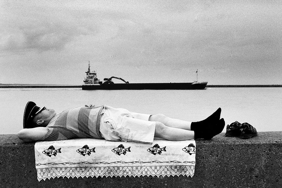 ©Борис Регистер. «Запах морских снов. Балтийск, Калининградская область. 2016»