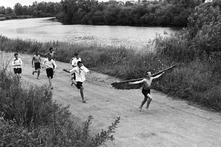 ©Борис Регистер. «Икар. Калининградская область. 1991»