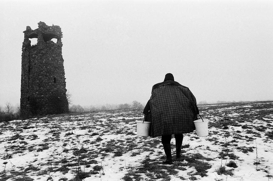 ©Борис Регистер. «Метамарфоз (у башни Бисмарка). Черняховск, Калининградская область. 2016»