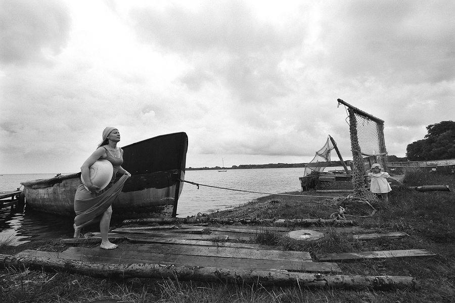 ©Борис Регистер. «Томится день дождливой грёзы... Балтийская коса. 2017»