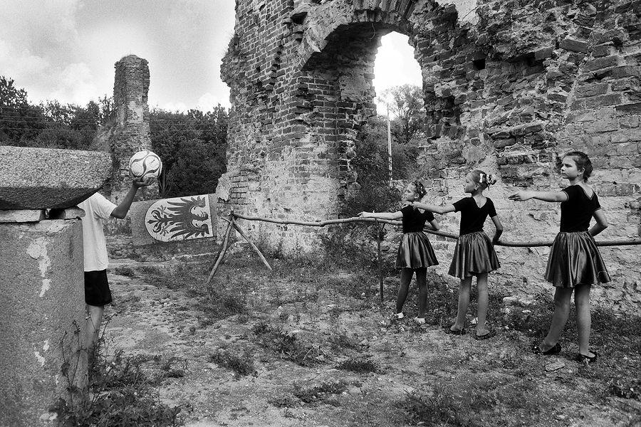 Замок Брандербург. Поселок Ушаково, Калининградская область. 2013