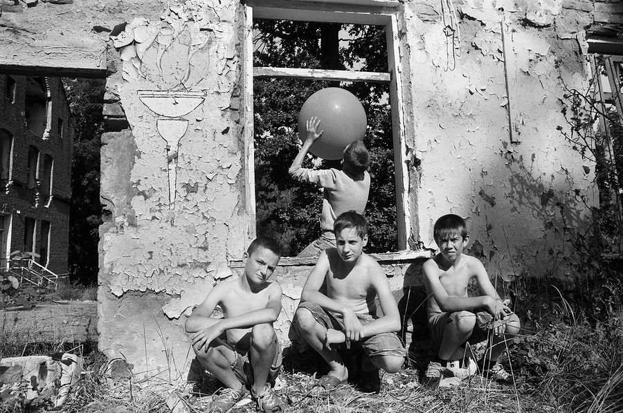 ©Борис Регистер. «Поселок Чехово, Калининградская область. 2015»