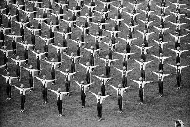 Торжественное открытие международных соревнований «Дружба-84» на Центральном стадионе имени В. И. Ленина. Москва 18 августа 1984. © Александр Стешанов
