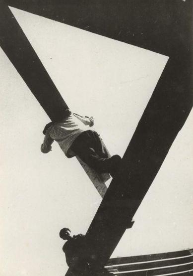 Борис Игнатович. С доской, 1929