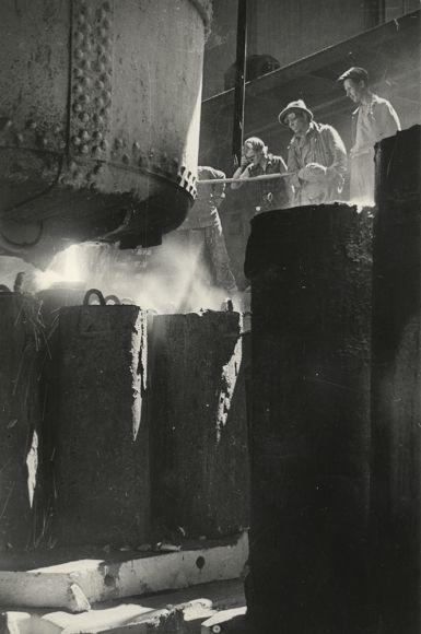 Борис Игнатович. Выплавка стали, 1938