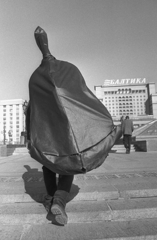 Манежная площадь. Москва, 2000. Серебряно-желатиновый отпечаток. Частное собрание