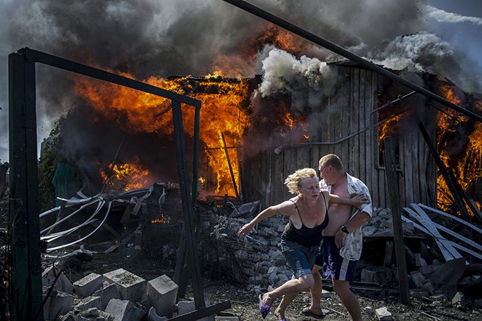 Из серии «Черные дни Украины» © Валерий Мельников/Россия сегодня