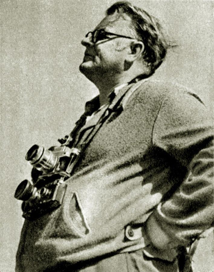 """Первый председатель фотоклуба """"ВДК"""" Г.М. Мутовкин. Фото 1960 г."""