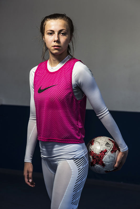 ©Эрик Ваззолер. «Анастасия Шведова. Россия. Футбол»