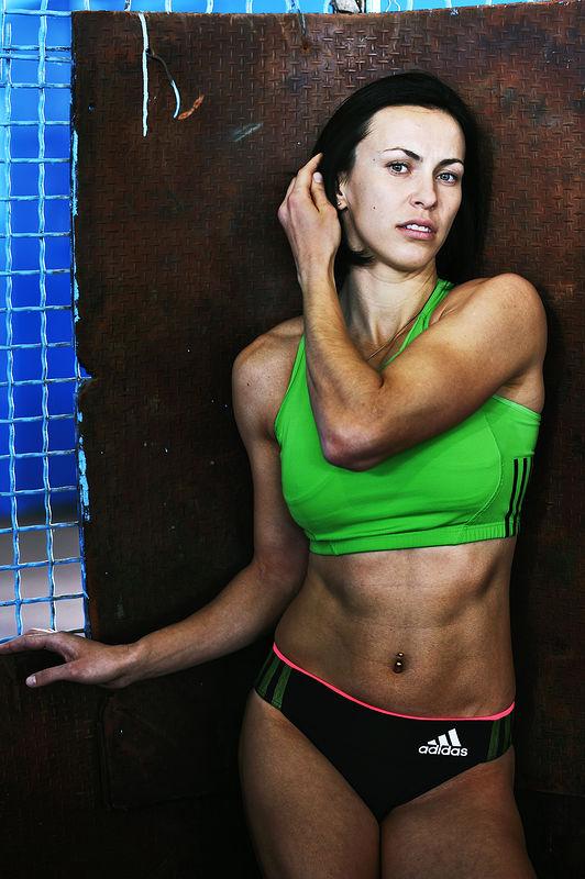 ©Эрик Ваззолер. «Анна Мельниченко. Украина. Лёгкая атлетика (семиборье)»