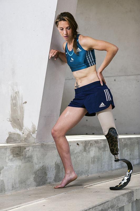 ©Эрик Ваззолер. «Мари-Амели Ле Фур. Франция. Лёгкая атлетика (паралимпиец)»
