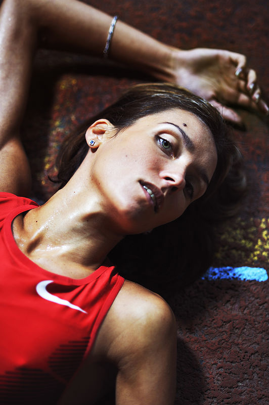 ©Эрик Ваззолер. «Ольга Саладуха. Украина. Лёгкая атлетика»