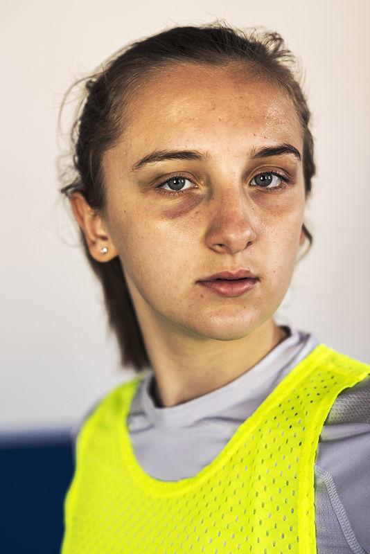 ©Эрик Ваззолер. «Виктория Дубова. Россия. Футбол»