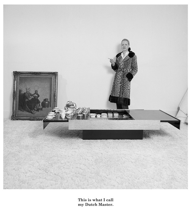 Там же хорошая Karen Knorr, есть в хозяйстве ее книжка. Untitled, from the series Belgravia, 1979-81. 40.64 x 50.8 cm, Black and White Silver Bromide Prints