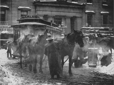 Alfred Stieglitz, The Terminal, New York, 1892
