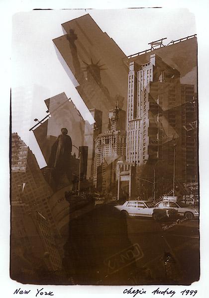 ©Aндрей Чежин. «Нью-Йорк, 1999»