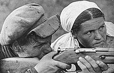 Д.Чернов. Партизаны. 1941. РГАКФД