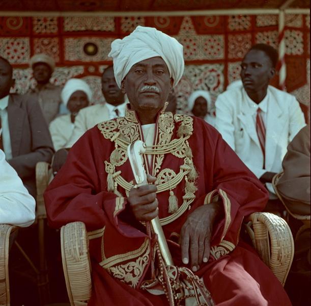 Николай Драчинский. Портрет вождя одного из арабских племен. Северные провинции Судана. 1957 © Архив Николая Драчинского, собрание Аллы Вахромеевой