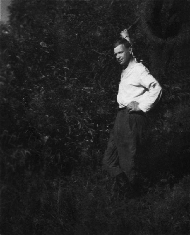 ©Коновалов Александр Васильевич. «Дядя Миша. 1941–45. Бумага, черно-белая фотопечать. 30 х 20 см»
